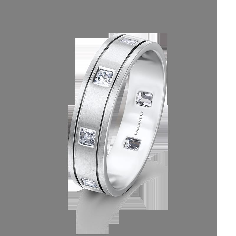 GB11-6mm-brushed-square-emerald-cut-diamond-mens-wedding-ring-01