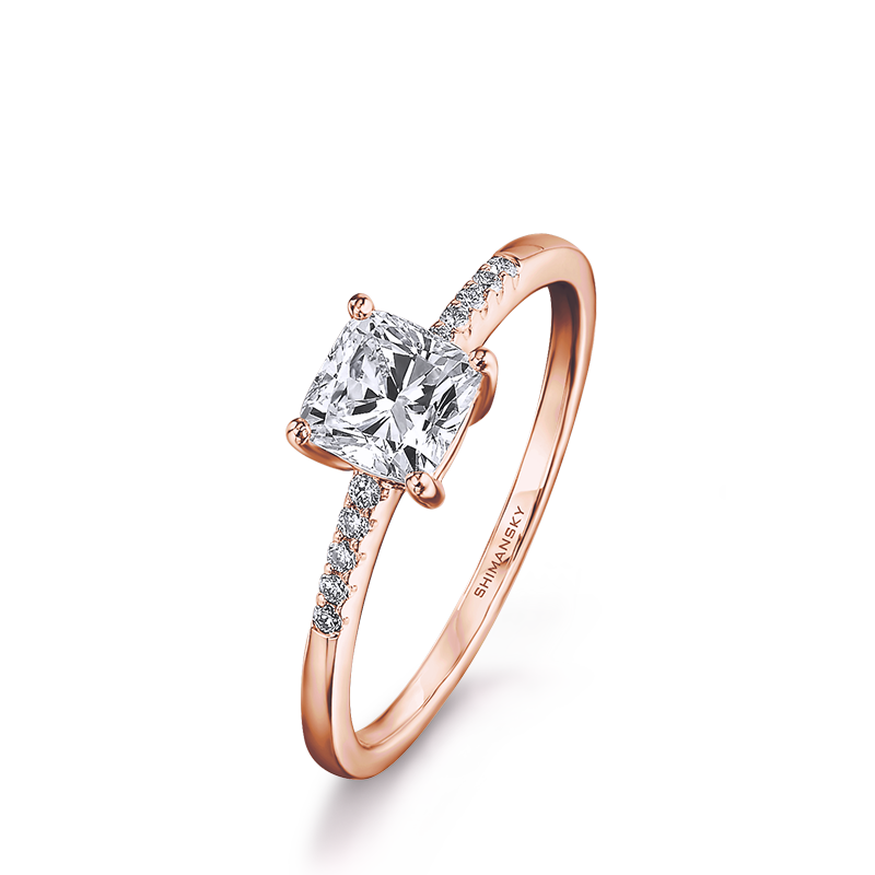solitaire-cushion-cut-engagement-ring-with-microset-diamonds-rose-gold-01