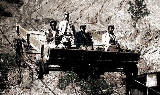Diamond Mining in South Africa in the 1800's