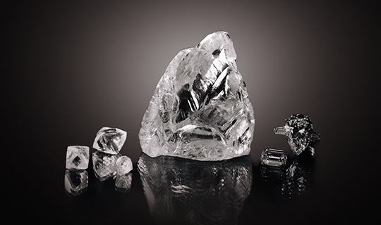 The Cullinan Rough Diamond Found in South African