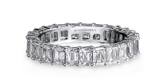 Shimansky Criss Cut Diamond Full Eternity Ring