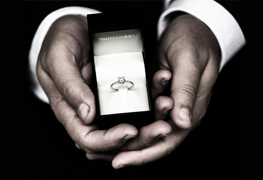 Help him find the ring you want