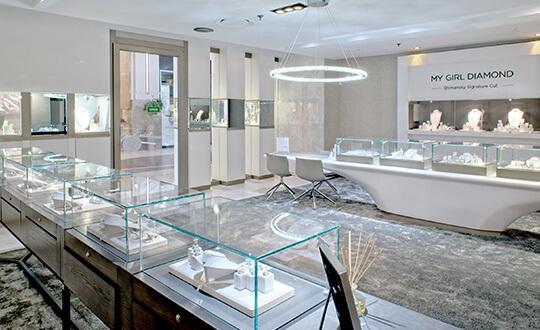 Diamond Jewellery, Shimansky Jewellers, Nelson Mandela Square Sandton