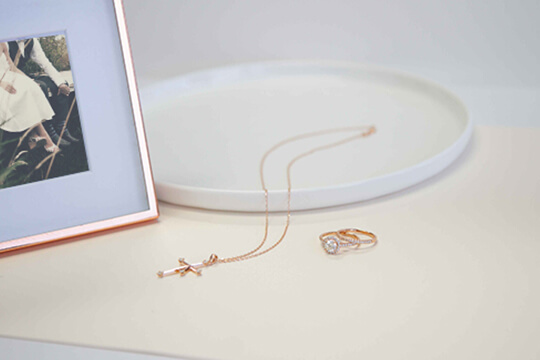 Shimansky Pendant and Ring   Shimansky