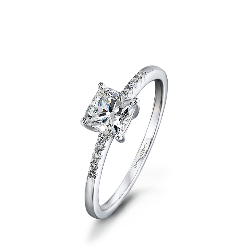 solitaire-cushion-cut-engagement-ring-with-microset-diamonds-01