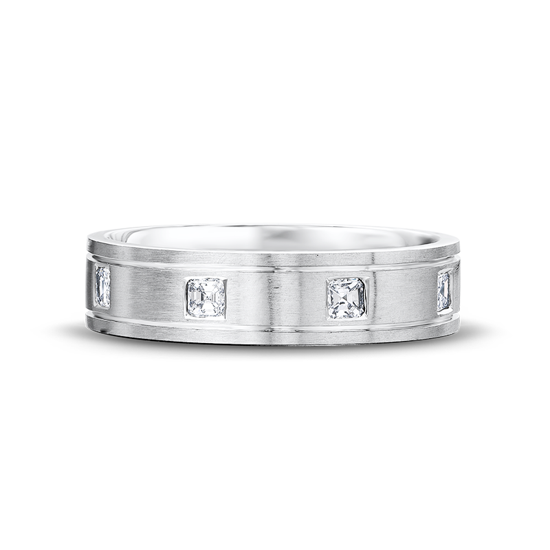GB11-6mm-brushed-square-emerald-cut-diamond-mens-wedding-ring-02-1