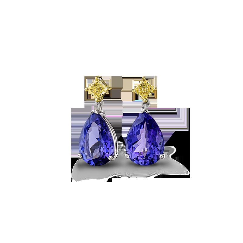 12-pear-shape-tanzanite-and-fancy-yellow-diamond-drop-earrings