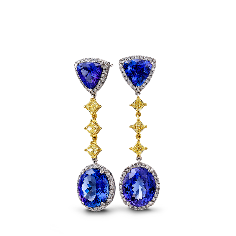 02-trilliant-and-oval-shape-tanzanite-and-fancy-yellow-diamond-drop-earrings
